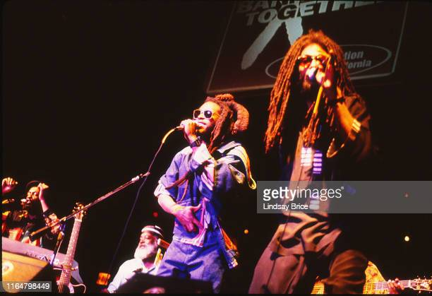 Steel Pulse perform for the ACLU of Southern California Grammy event Banned Together at Arena in Hollywood on February 24 1993 in Los Angeles