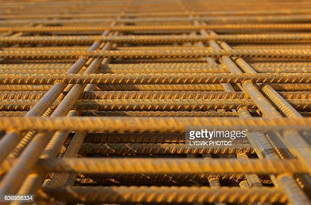 Steel rebar for reinforced concrete