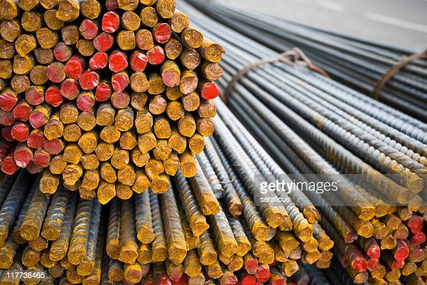 steel rods - iron filings stock pictures, royalty-free photos & images