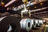 Steel sheet coils