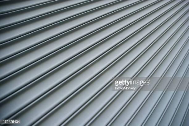 Steel Shutter Lines Background Diagonal Stripe