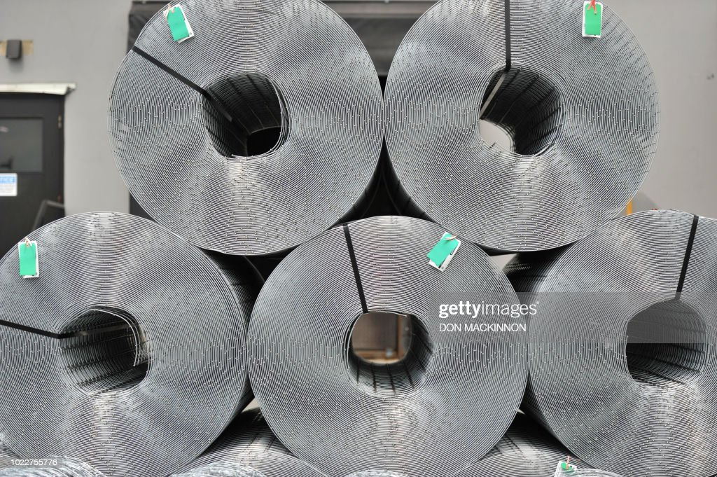 Steel wire products manufactured by the Tree Island Steel Company ...