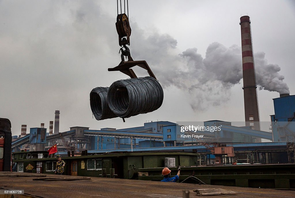 A Look Inside China's Steel Industry : News Photo