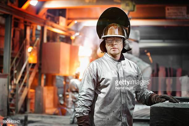 steel worker - stahl stock-fotos und bilder