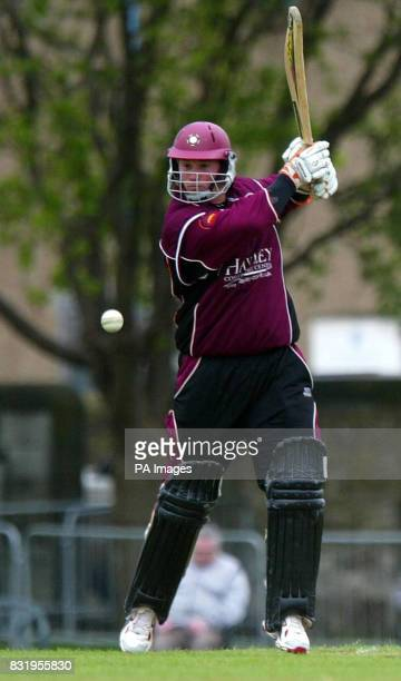 Steelbacks David Sales in the CG Trophy game against the Scottish Saltires at the Grange Cricket club EdinburghPress Association21May2006Picture...