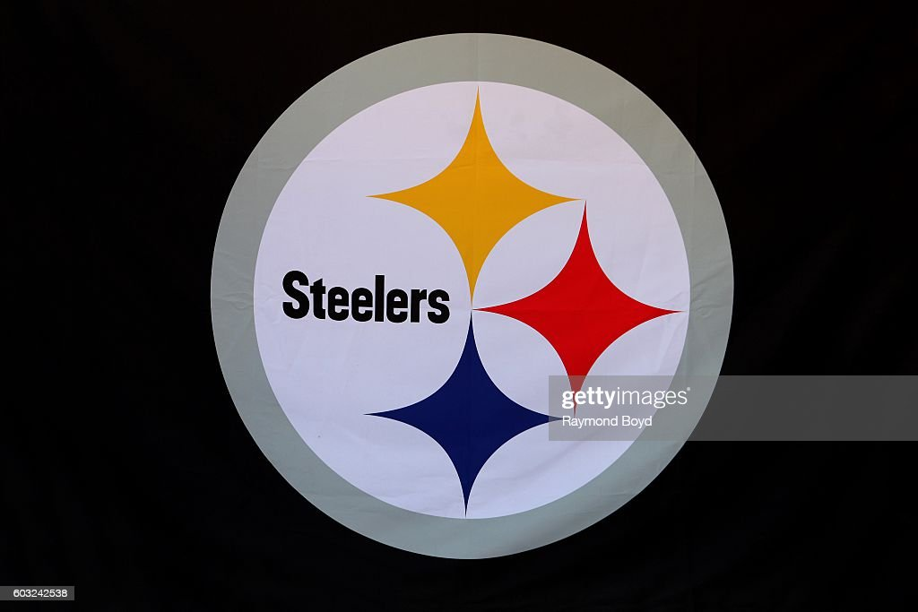 photo regarding Printable Steelers Logo known as Pittsburgh Steelers Shots and Images - Getty Visuals