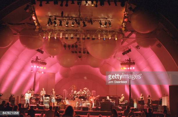 Steely Dan performs at the Hollywood Bowl in Los Angeles California on August 12 1996