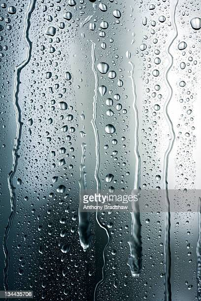 Steely gray running condensation