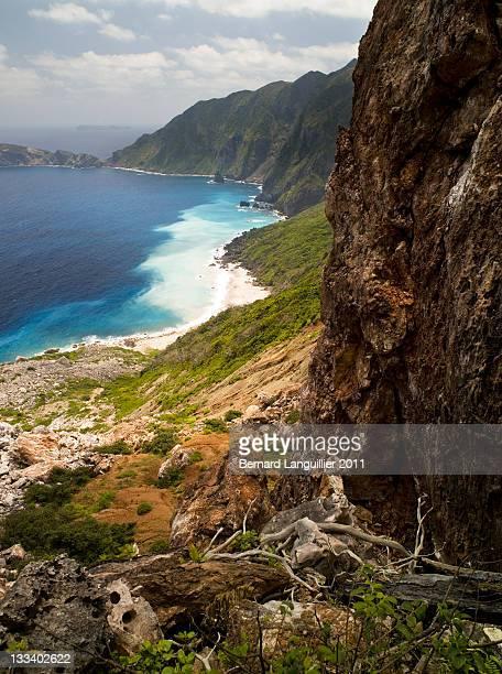 Steep cliffs of Ogasawarajima