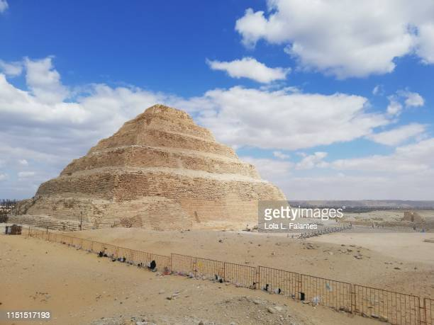 Steep pyramid of Djoser. Saqqara.