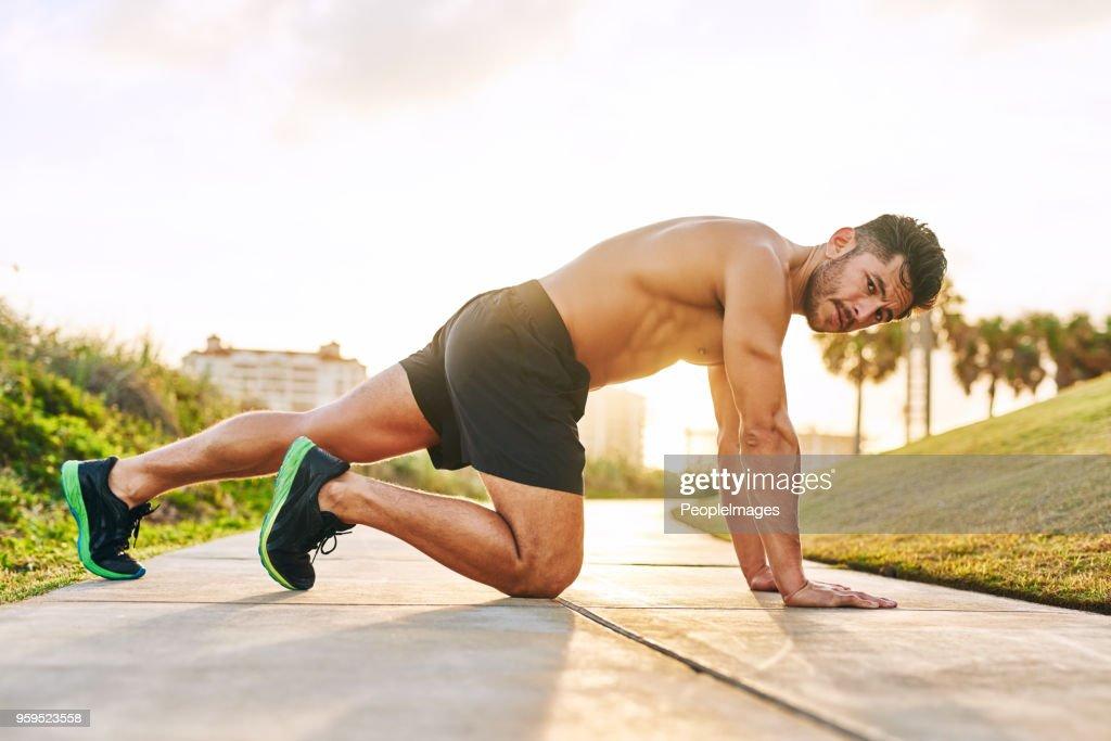 Weichen sein Fitness-Spiel : Stock-Foto
