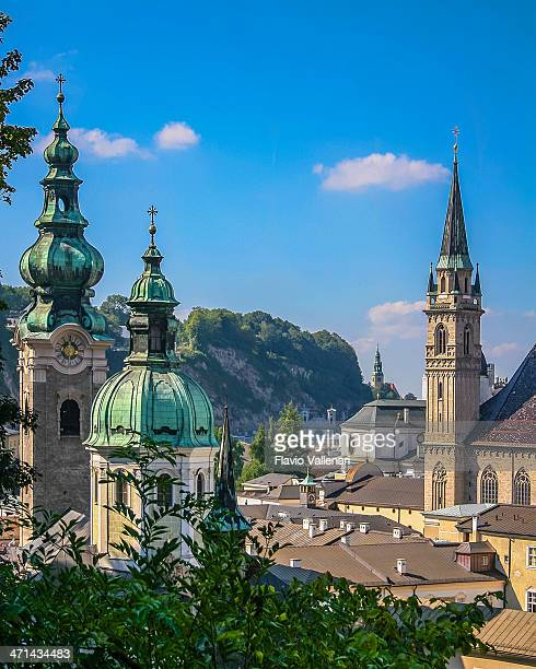 Steeples and domes of Salzurg