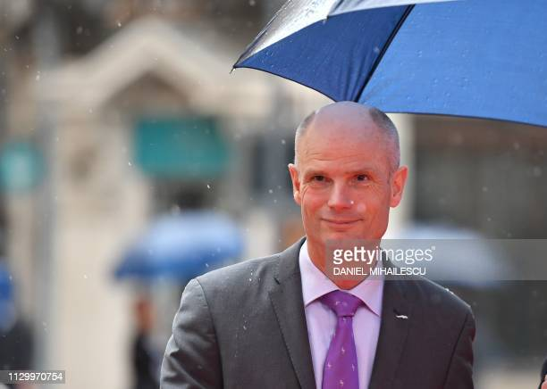Stef Blok The Netherlands' Minister of Foreign Affairs arrives for the Informal Meeting of Ministers and State Secretaries for European Affairs at...