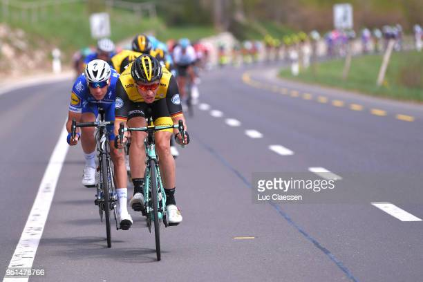 Stef Clement of The Netherlands and Team LottoNLJumbo / during the 72nd Tour de Romandie 2018 Stage 2 a 1739km stage from Delemont to YverdonlesBains...