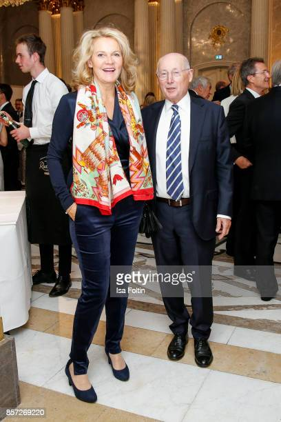 Stefan Aust and his wife Katrin Hinrichs-Aust during the Re-Opening of the Staatsoper Unter den Linden on October 3, 2017 in Berlin, Germany.