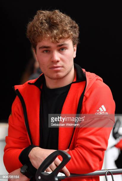 Stefan Baumeister looks on during the 2018 PyeongChang Olympic Games German Team kit handover at Postpalast on January 22 2018 in Munich Germany
