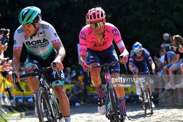 Stefan Bissegger of Switzerland and Team EF Education - Nippo competes during the 17th Benelux Tour 2021, Stage 7 a 180,9km stage from Namur to...