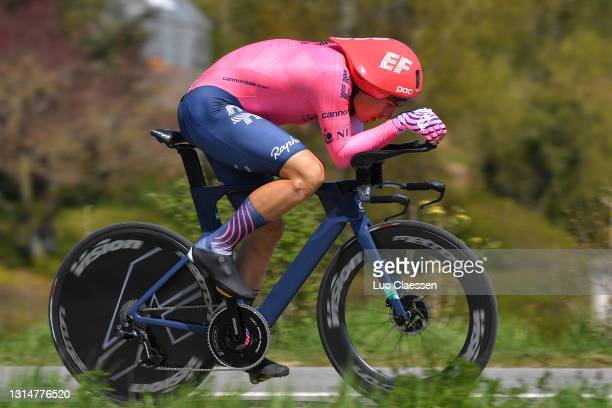 Stefan Bissegger of Switzerland and Team EF Education - Nippo during the 74th Tour De Romandie 2021, Prologue a 4,05km Individual Time Trial stage...