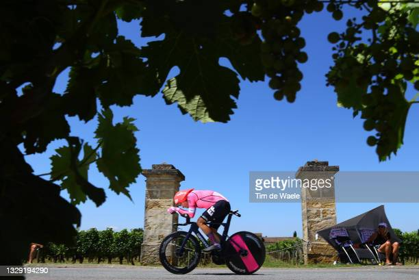 Stefan Bissegger of Switzerland and Team EF Education - Nippo during the 108th Tour de France 2021, Stage 20 a 30,8km Individual Time Trial Stage...