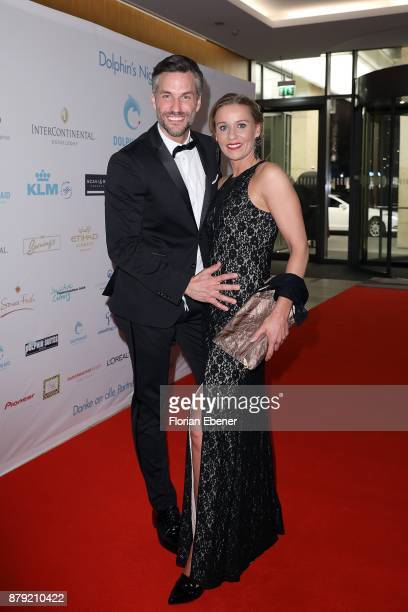 Stefan Bockelmann and Tina Bockelmann attend the charity event Dolphin's Night at InterContinental Hotel on November 25 2017 in Duesseldorf Germany