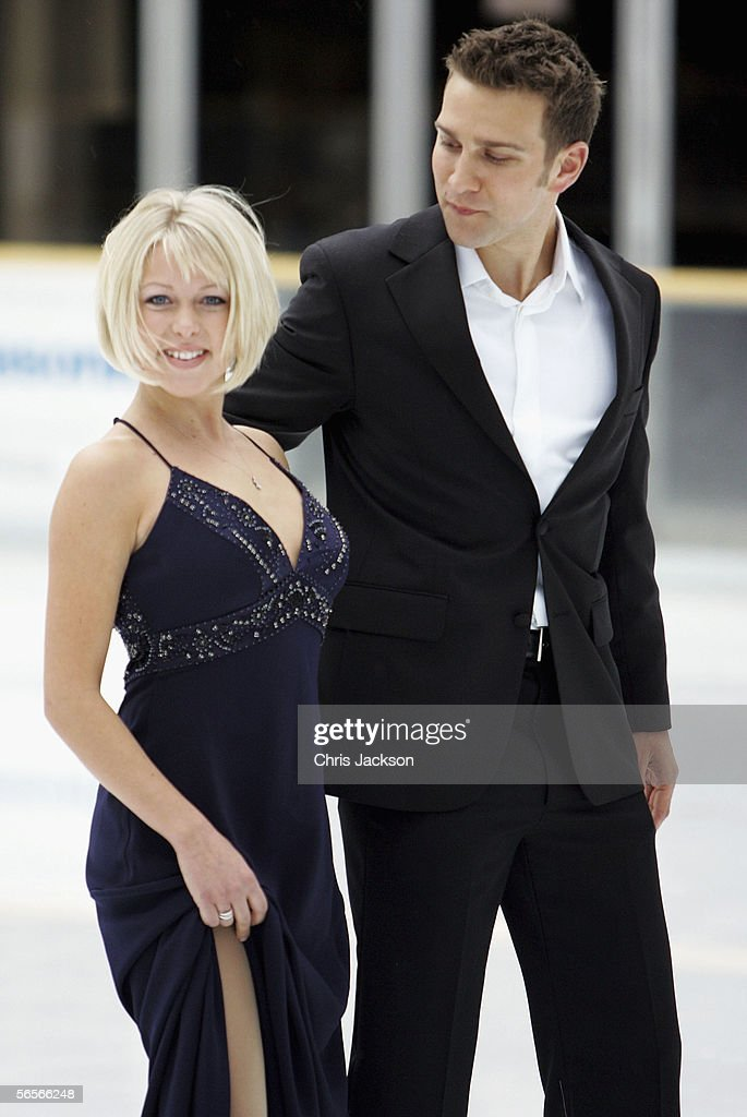 Stefan Booth And Kristina Cousins Attend The Launch Of The New Ice News Photo Getty Images