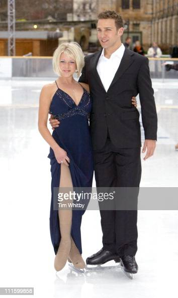 Stefan Booth And Kristina Cousins During Dancing On Ice Photocall News Photo Getty Images