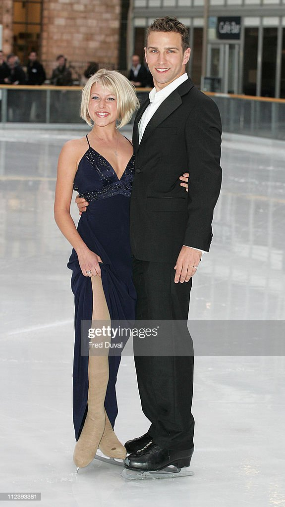 Stefan Booth And Kristina Cousins During Dancing On Ice Tv Press News Photo Getty Images