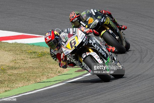 Stefan Bradl of Germany and LCR Honda MotoGP rides during the MotoGP race of the MotoGP of Italy at Mugello Circuit on July 15 2012 in Scarperia Italy