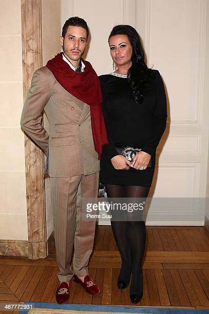 Stefan D'Angieri and SAR Princesse Kasia Al Thani attend 'The Children for Peace' Gala At Cercle Interallie at Cercle Interallie on February 7 2014...
