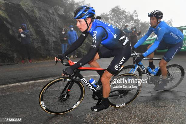 Stefan De Bod of South Africa and NTT Pro Cycling Team / Imanol Erviti of Spain and Movistar Team / Breakaway / during the 75th Tour of Spain 2020,...