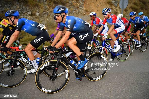 Stefan De Bod of South Africa and NTT Pro Cycling Team / Reinardt Janse Van Rensburg of South Africa and NTT Pro Cycling Team / Paul Ourselin of...
