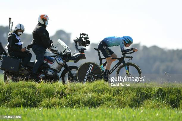 Stefan De Bod of South Africa and Team Astana – Premier Tech during the 100th Volta Ciclista a Catalunya 2021, Stage 2 a 18,5km Individual Time Trial...