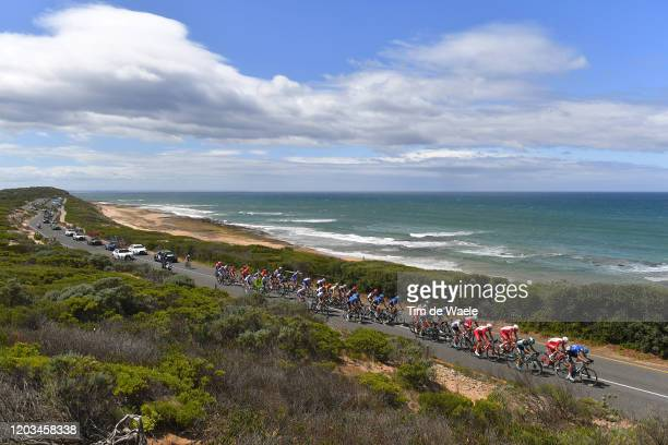 Stefan De Bod of South Africa and Team NTT Pro Cycling / Mathias Le Turnier of France and Team Cofidis Solutions Credits / Marco Mathis of Germany...