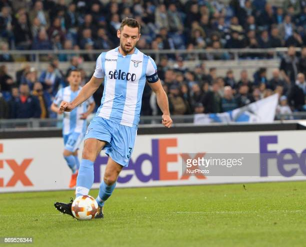 Stefan de Vrij during the Europe League football match SS Lazio vs Nizza at the Olympic Stadium in Rome on november 02 2017