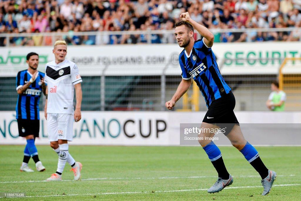 FC Lugano v Inter Milan : News Photo