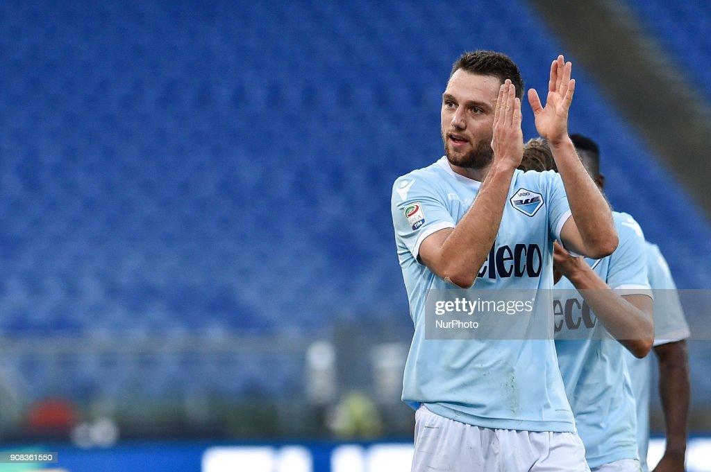 Lazio v Chievo Verona Serie A 21/01/2018 : News Photo