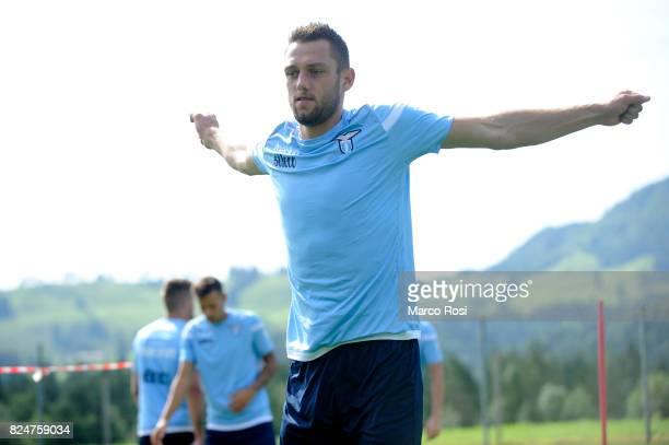 Stefan De Vrij of SS Lazio during the SS Lazio Training Camp on July 31 2017 in Walchsee Austria
