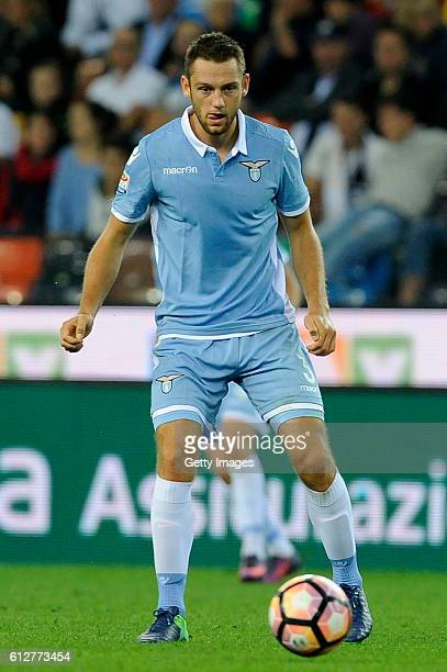Stefan De Vrij of SS Lazio in action during the Serie A match between Udinese Calcio and SS Lazio at Stadio Friuli on October 1 2016 in Udine Italy