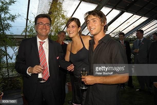 Stefan Feuerstein Tochter Antonia Speidel Freund Stephan BenefizGala zugunsten des von J u t t a S p e i d e l unterstützten Projektes für obdachlose...