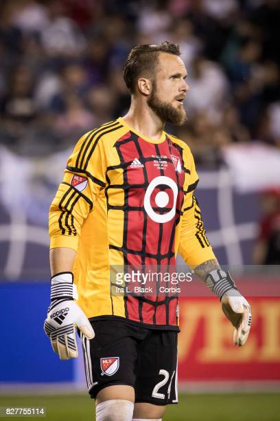 Stefan Frei of the MLS AllStar during the MLS AllStar match between the MLS AllStars and Real Madrid at the Soldier Field on August 02 2017 in...