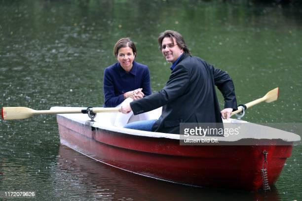 Stefan Frommann und Inga Griese rudern über den Neuen See - Icon