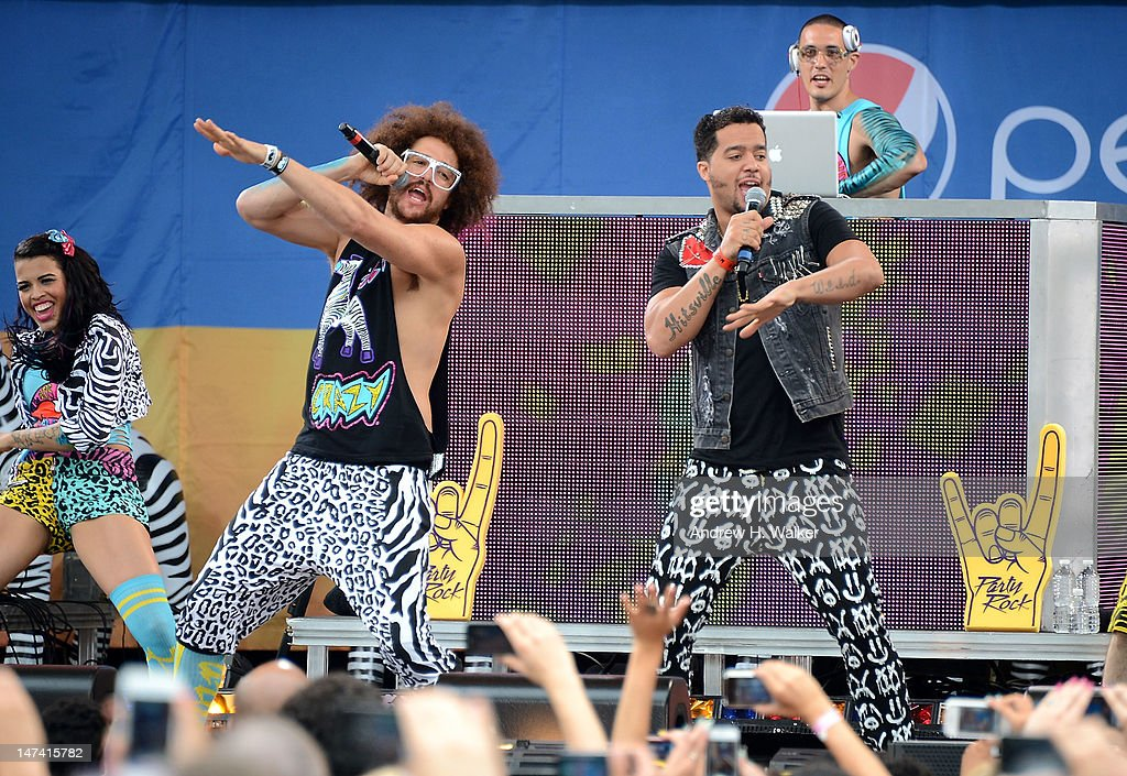 "LMFAO Performs On ABC's ""Good Morning America"""