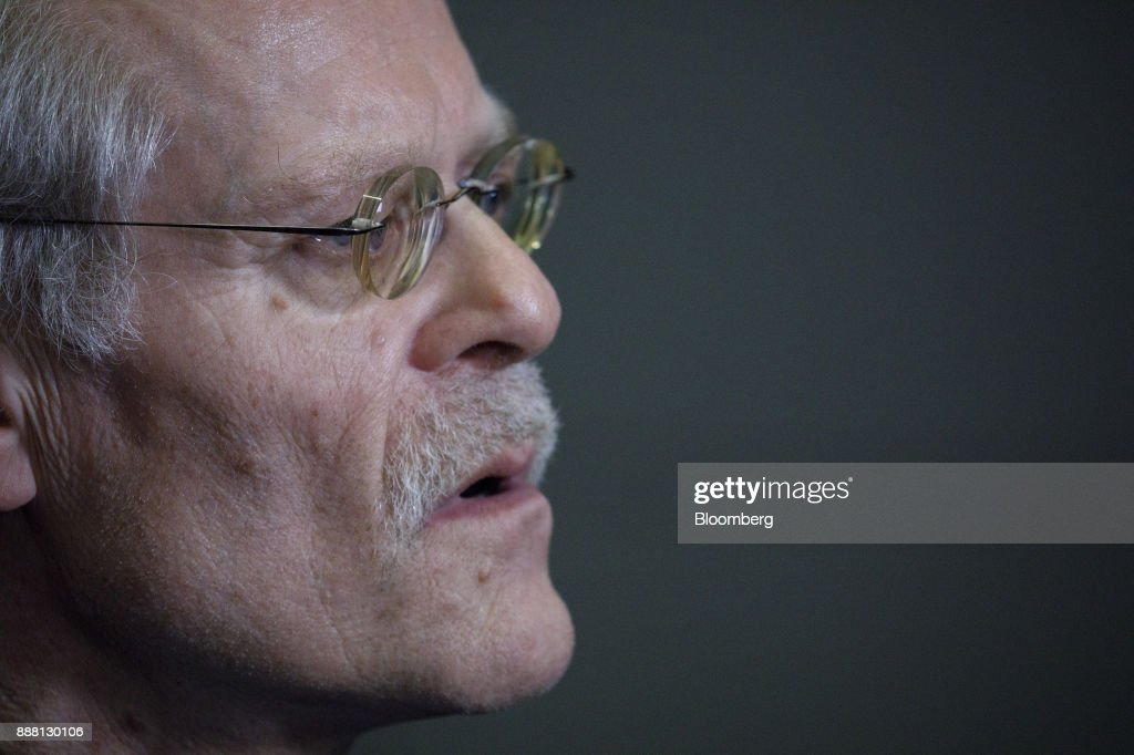 Stefan Ingves, governor of the Sveriges Riksbank and chairman of the Basel Committee, speaks during an interview following a Basel III capital rules news conference at the European Central Bank (ECB) headquarters in Frankfurt, Germany, on Thursday, Dec. 7, 2017. Big European mortgage lenders in low-risk markets may be the hardest hit by new capital rules that global regulators are expected to complete this week after a year-long deadlock. Photographer: Alex Kraus/Bloomberg via Getty Images