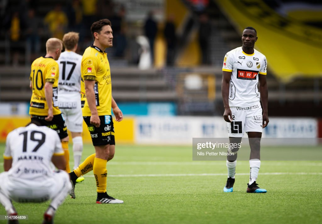 Stefan Ishizaki Of If Elfsborg And Godswill Ekpolo Of Bk Hacken News Photo Getty Images