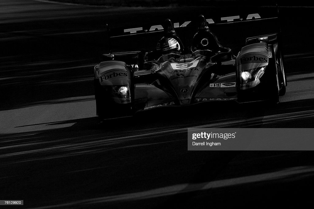 Stefan Johansson Drives The #9 Highcroft Racing Acura ARX 01 During The  American Le