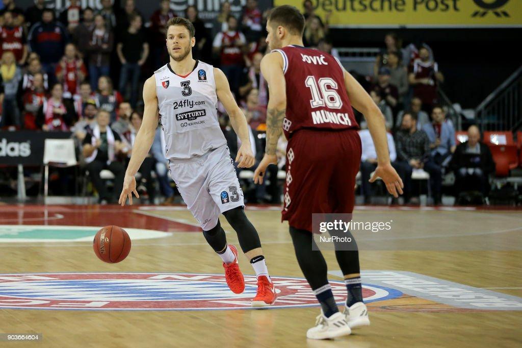 Bayern Munich v Lietuvos Rytas Vilnius - Basketball EuroCup : News Photo