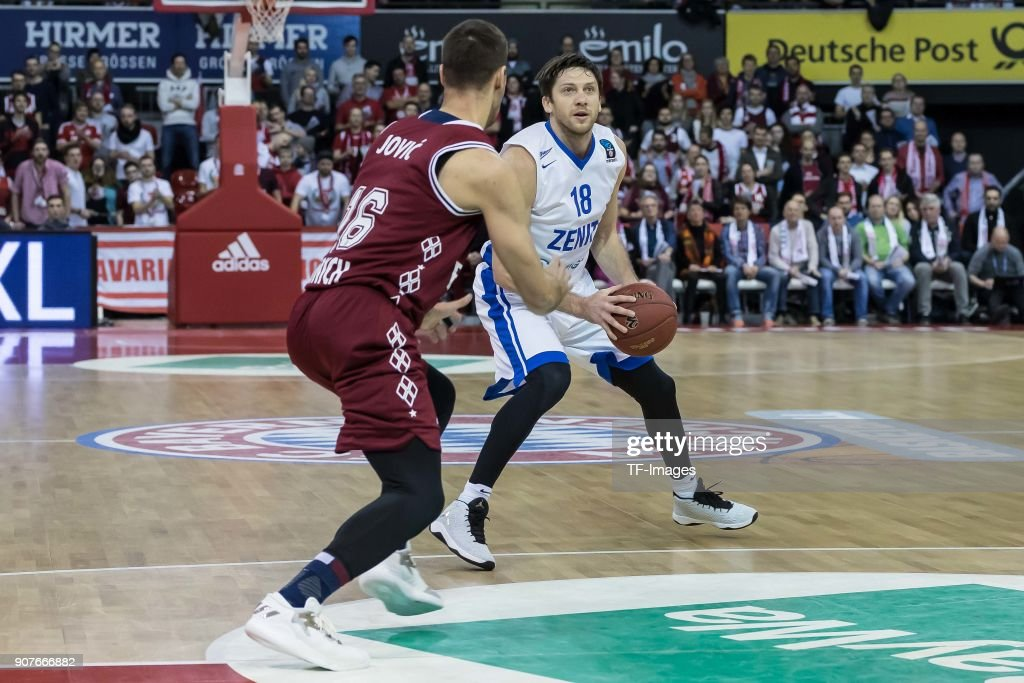 Bayern Munich v Zenit St. Petersburg - Basket EuroCup : News Photo