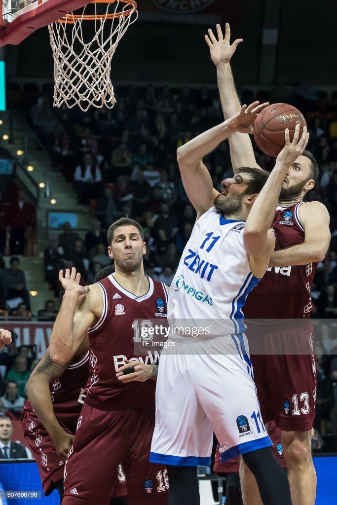 Bayern Munich v Zenit St. Petersburg - Basket EuroCup : Foto jornalística