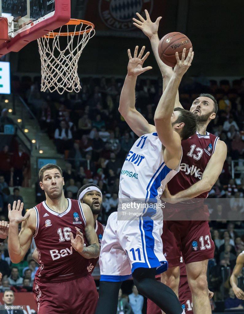 Bayern Munich v Zenit St. Petersburg - Basket EuroCup : News Photo