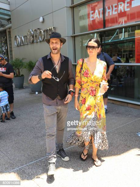 Stefan Kapicic and Ivana Horvat are seen on July 21 2017 in San Diego California